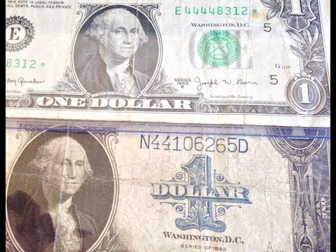 Rare Dollar Bills To Look For - Barr Notes & Horse Blankets
