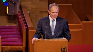 George W. Bush speaks Rich DeVos funeral