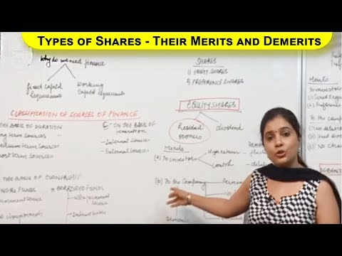 Types of Shares Their Merits and Demerits Cl XI Bussiness Studies by Ruby Singh