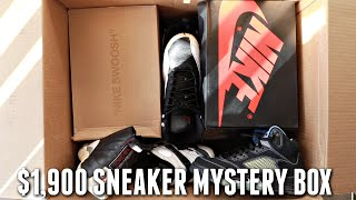 I BOUGHT A $1,900 SNEAKER MYSTERY BOX (OFF-WHITE GRAIL!)