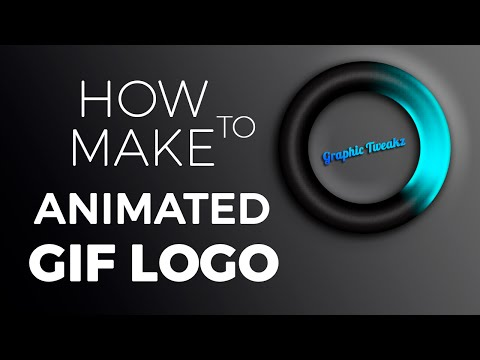 Photoshop Tutorial | Animated Logo Design GIF