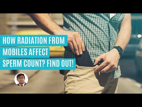 Why radiation from mobiles reduces sperm count? Know more!