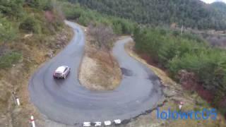 Test Stephane Lefebvre Monte Carlo  2017 (C3 wrc drone)