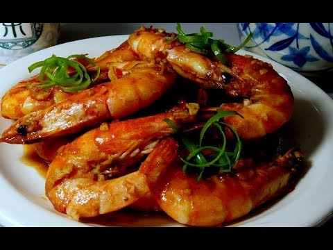 Chengdu's Stir Fry Spicy Jumbo Shrimp
