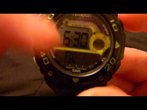 How to Turn the alarm off on the Armitron All Sport Watch