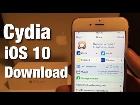 How to Download Cydia on iOS 11 iPhone iPad Without Computer Jailbreak 100% Working!! 2017
