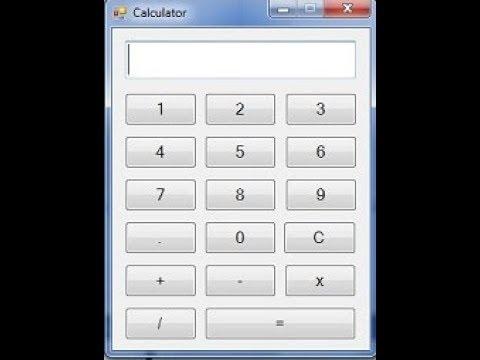 simple and easy calculator in vb.net 2010 (Urdu/Hindi)
