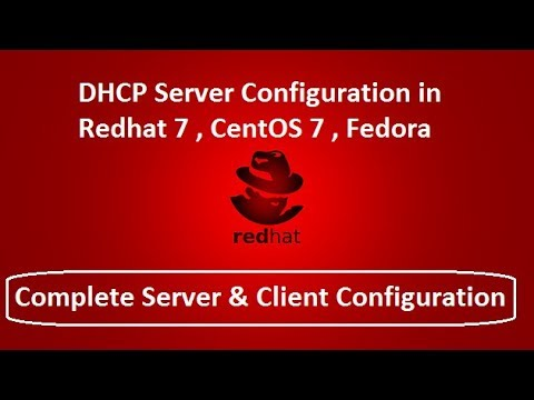 How to configure DHCP Server in centos 7, redhat7, fedora linux (Complete Server & client)