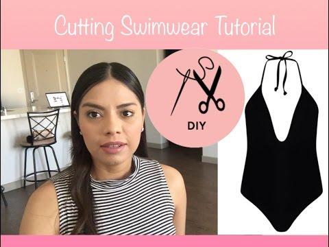 Cutting Swimwear Tutorial