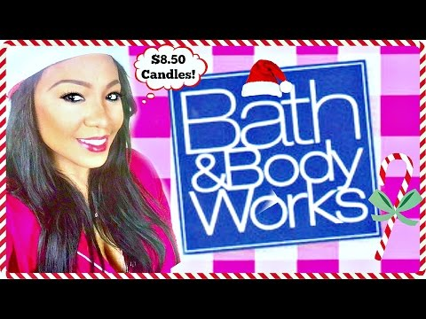 Bath and Body Works Haul 2016 Winter | Vlogmas Day 4 (2016)
