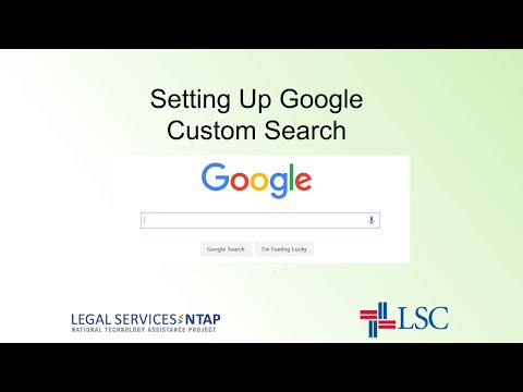Setting Up a Custom Search Engine
