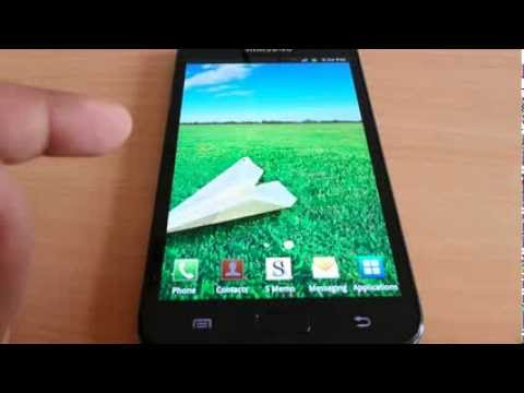 Android 4.1.2 to 2.3.6 on Samsung galaxy Note N7000 - Quick Review