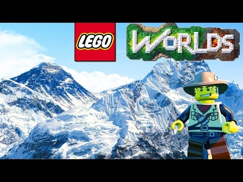 LEGO Worlds ★ LEGO Land Building Underwater ★How to Build a House