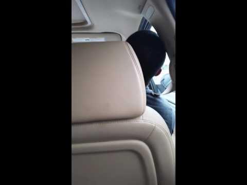 When you fall asleep in the car..