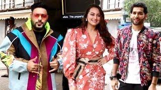 Sonakshi Sinha,Badshah & Priyanshu Jora's Grand Entry Togethr For Khandani Shafakhana Trailer Launch