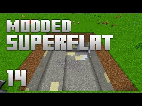 ►Modded Superflat - BIG HOLE!   Ep. 14   Modded Minecraft Survival◄