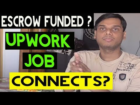 Escrow funded and connects explained   Escrow fund on pph, fiverr and upwork   Hindi