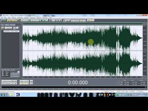 Cool Edit Pro  How To Make Song Mp3 Karaoke (Tutorial)