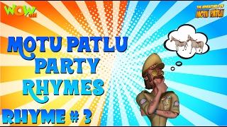 Party Rhymes 03 - Motu Patlu Rhymes - Available Worldwide!