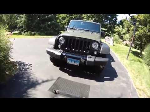 DIY Tow Bar Bracket for Jeep Wrangler
