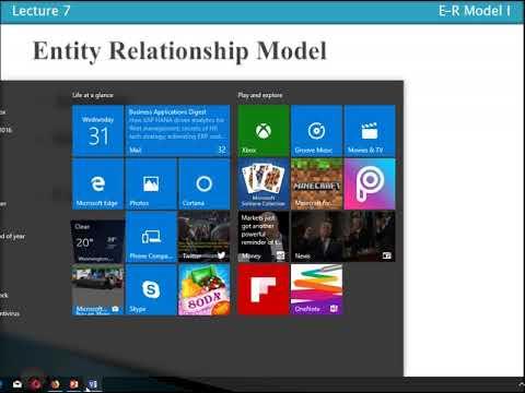 Entity Relationship Model 03:  Attributes