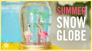 diy summer snow globes