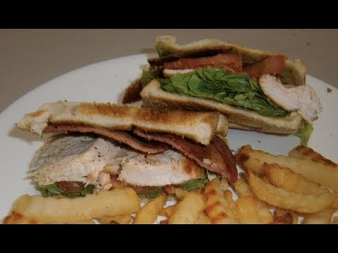 Chicken Club Sandwich - Video Recipe