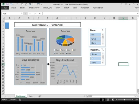 Advanced Excel   How to link dashboard charts to Word or Powerpoint and auto update