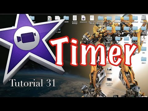 Count Down or Up Timer in iMovie 10.0.2 | Tutorial 31
