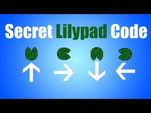 Minecraft - Secret Lilypad Code