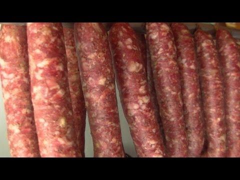 Droge Worst air-dryd Dutch sausage Video Recipe littleGasthaus