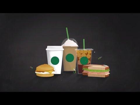 Redeem free drinks with Starbucks Rewards