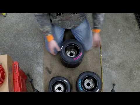 Mounting Kart Tires