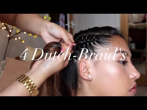 4 Dutch-Braid Tutorial