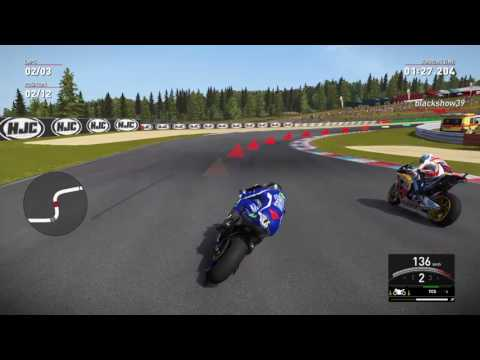 Valentino Rossi The Game online gameplay BRNO win