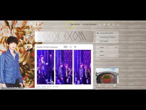 K-pop Tumblr Dashboard Theme