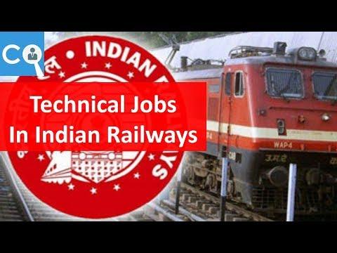 Job Opportunities in Indian Railways   Technical   Part 2