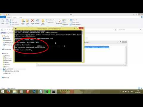 Install DotNet Framework | Windows 8