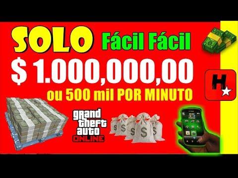 💲NOVO! FÁCIL!💲GLITCH SOLO DINHEIRO GTA 5 💲SOMENTE 4 PASSOS!💲FAÇA MILHÕES AGORA!💲GTA V Money Glitch💲
