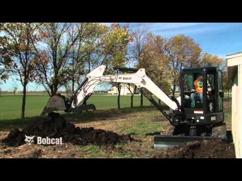 Bobcat Compact Excavator Safety