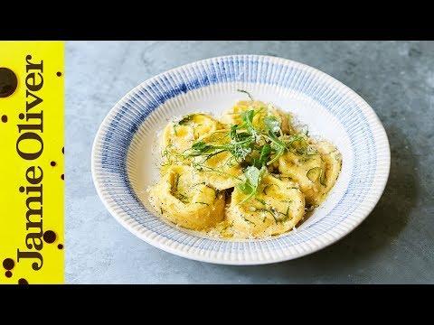 SUMMER MENU | Asparagus & Ricotta Ravioli | Jamie's Italian