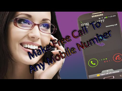 How To Make Free Call From Internet To Any Mobile Number