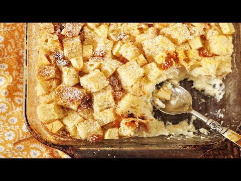 Bread Pudding Recipe Demonstration - Joyofbaking.com