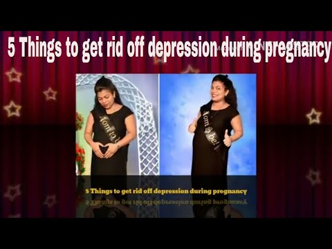 [5 Things to get rid off depression during pregnancy][Alone & Pregnant] [Depression During Pregnant]