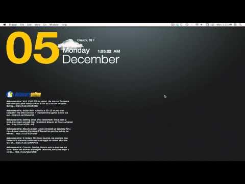Mac OSX Basics - Make hard drive visible on desktop