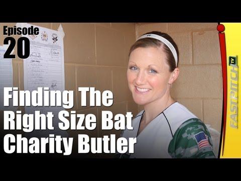 Softball Drills & Tips: Correct Bat Size   Fastpitch TV