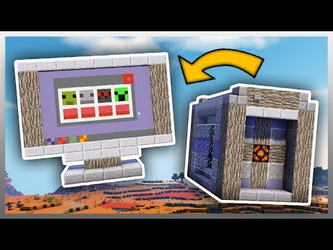 ✔️ Working COMPUTER in Minecraft! (No Mods)