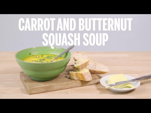 Carrot and Butternut Squash Soup   Recipe   GoodtoKnow