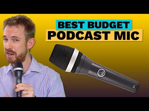 Best Budget Podcast Microphone - AKG D5