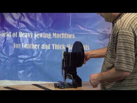 Máquina perforadora manual para cinturón de cuero